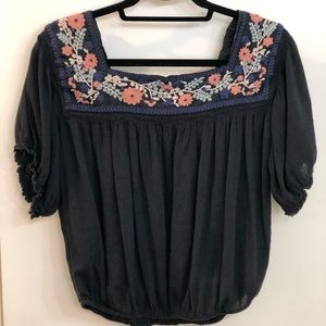 AE Outfitters Crochet Blouse